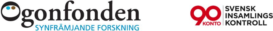 Ögonfonden logotyp